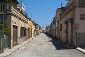 Chudák rezidenční čtvrti porto cristo město — Stock fotografie