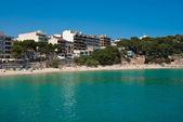 Porto Cristo beach, view from the port, Majorca, Spain — Stockfoto