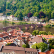 Royalty-Free Stock Photo: Heidelberg old town, Neckar river and the bridge