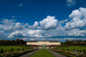Clouds over Ludwigsburg royal palace — Stock Photo
