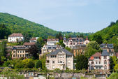 Heidelberg residential area on the hill — Stock Photo