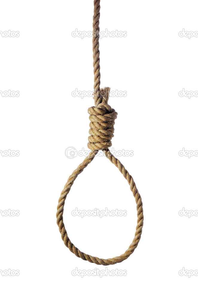 Hangmans Noose — Stock Photo © stocksnapper #5672282