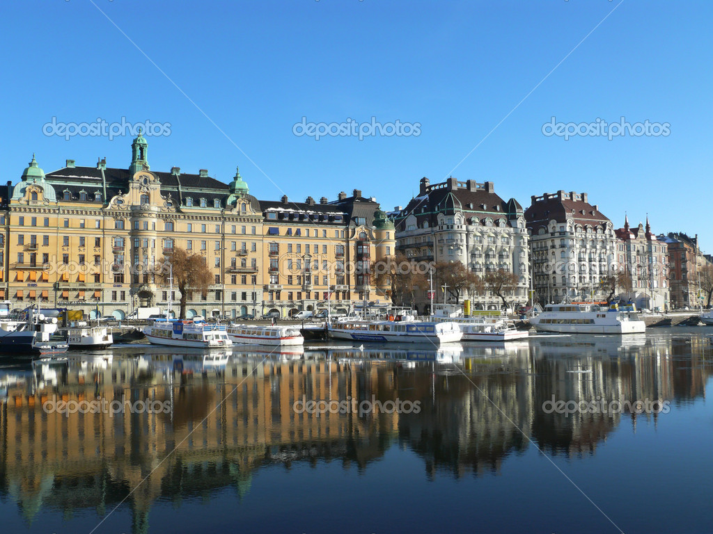 Stockholm, Sweden — Stock Photo #5522431