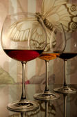 číše vína — Stock fotografie