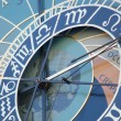 Stock Photo: Prague: The Astronomical Clock on the Old Town Hall