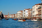 Canal Grande - Grand Canal, Venice — Stock Photo
