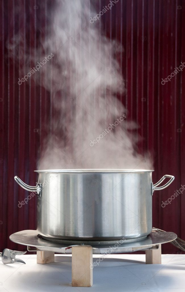 steam coming out of a pot stock photo 6249884. Black Bedroom Furniture Sets. Home Design Ideas
