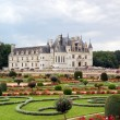 Chenonceau - Castle and garden — 图库照片