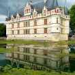 Azay Le Rideau Castle — Stock Photo #6259032