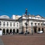 el teatro alla scala de Milán, Italia — Foto de Stock