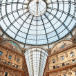 Milan, Galleria Vittorio Emanuele — Stock Photo