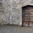 Stock Photo: Courtyard of Kilmainham Gaol
