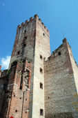 Marostica Castle — Stock Photo