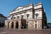 The Teatro alla Scala in Milan, Italy — Stock Photo