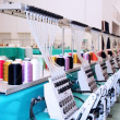 Textile: Industrial Embroidery Machine — Stock Photo #6492921