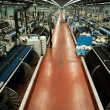 Stock Photo: Textile industry (denim) - Weaving