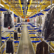 Italian clothing factory - Automatic warehouse - Photo