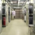 Italian clothing factory - Automatic warehouse — Stock Photo #6493851