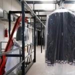 Italian clothing factory - Automatic warehouse — Stock Photo #6493876