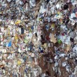 Paper and pulp mill plant - Paper recycling — Stock Photo