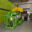 Factory: biogas energetic valorization - Stock Photo