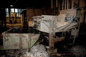 Paper and pulp mill plant - Pulping area — Stock Photo