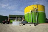 Renewable Energy: biogas energetic valorization — Stock Photo