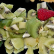 Stock Photo: Close up of salad fruit