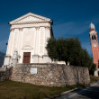 Saint Eulaia Church - Borso del Grappa — Stock Photo