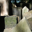 Jewish cemetery - Prague - Stock Photo