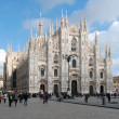 Milan Cathedral (Dome, Duomo) — Stock Photo