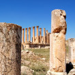 Ancient Jerash - Jordan — Stock Photo
