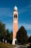 Igreja de Saint eulaia - borso del grappa — Fotografia Stock