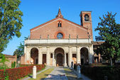 The Chiaravalle Abbey, Italy — Foto Stock