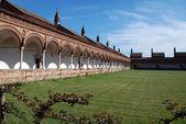 Die Certosa di Pavia oder die Kartause von pavia — Stockfoto
