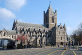 Christ Church Cathedral - Dublin — Stock Photo