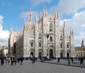 Milan Cathedral (Dome, Duomo) — Stock Photo