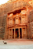 Petra, The Treasury — Stock Photo