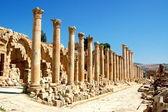 Ancient Jerash - Jordan — Stock Photo