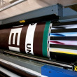 Digital printing - wide format printer — Foto Stock