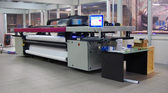 Digital printing - wide format printer — Stockfoto