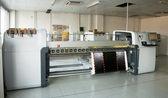 Digital printing - wide format printer — Foto de Stock