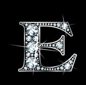 "Diamante ""e"" — Vector de stock"