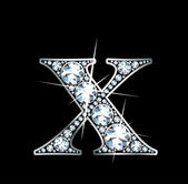 "Diamond ""X"" — Vector de stock"