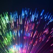 Fiber optics background with lots of light spots — Stock Photo #5434522