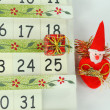 Stock Photo: Calendar with Christmas Day