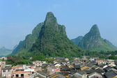 Historic interest in china guangxi huangyao — 图库照片