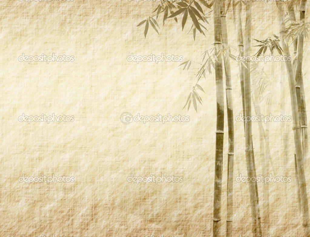Bamboo Paper Texture Paper Texture — Photo by