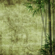 Bamboo on old grunge antique paper texture — Stock Photo #6552762