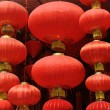 Festive chinese red lantern decorations — Stock Photo #6552777